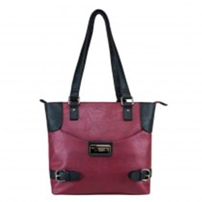 Ncstar BWI002 Satchel Small - Burgundy With Black