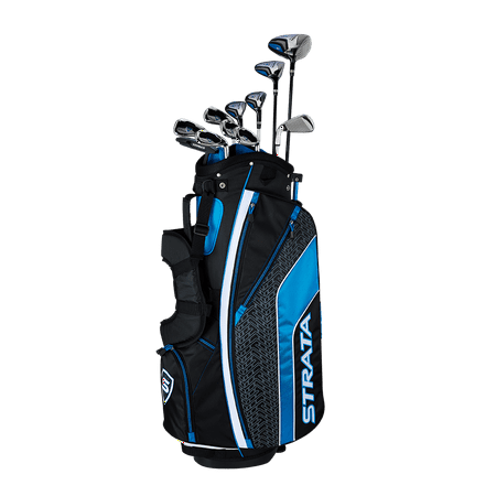 Callaway Men's Strata Ultimate '19 Complete 16-Piece Steel Golf Club Set with Bag, Right Handed