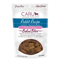Caru Soft 'n Tasty Rabbit Recipe Baked Bars Dog Treats - 3.75 oz
