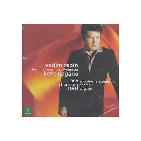 In this album, Vadim Repin plays Sarasate