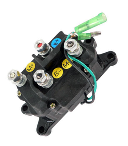 ATV Winch Contactor Solenoid For 63070 62135 74900 2875714, For Ramsey, Warn, Superwinch Champion 2500 3000 3500 4500 lb