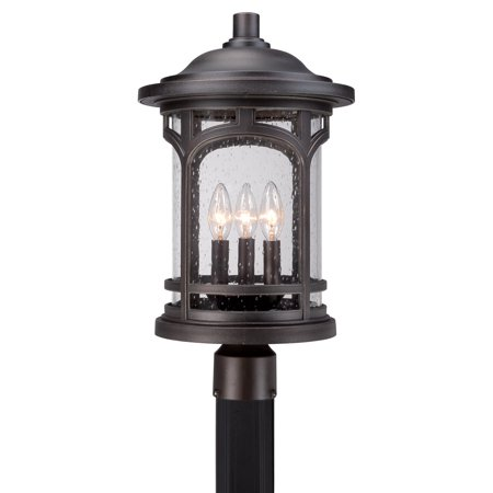Quoizel Marblehead MBH9011PN Outdoor Post Lantern