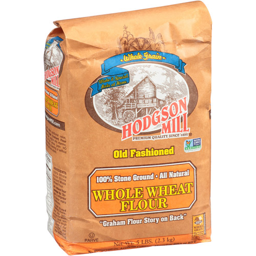 Hodgson Mill Old Fashioned Whole Wheat Graham Flour, 5 lbs (Pack of 6)