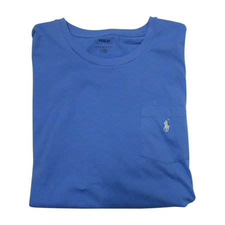 7ca7cb78e Ralph Lauren - Polo Ralph Lauren Mens' Big and Tall T-Shirt Jersey Crew  Neck Pocket T-Shirt (2XB, Blue/Mint Pony) - Walmart.com