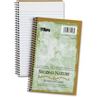 TOPS, TOP74108, Narrow-ruled Second Nature 1-subject Notebook, 1 Each