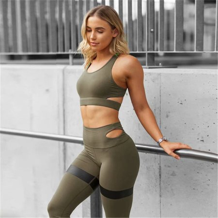 8f2fce0c5d Noroomaknet - Noromaknet Sport Bra Pants for Women,Womens Yoga Top High  Waisted Skinny Pants Leggings Trousers Set for Workout Gym Running -  Walmart.com