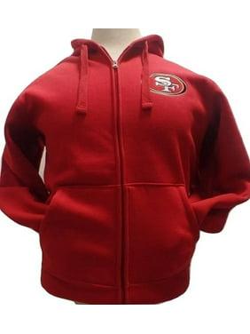 ... Licensed Sports Apparel. Product Image San Francisco Football Forty- Niners Sherpa Fleece Full-zip Jacket 01b716af1