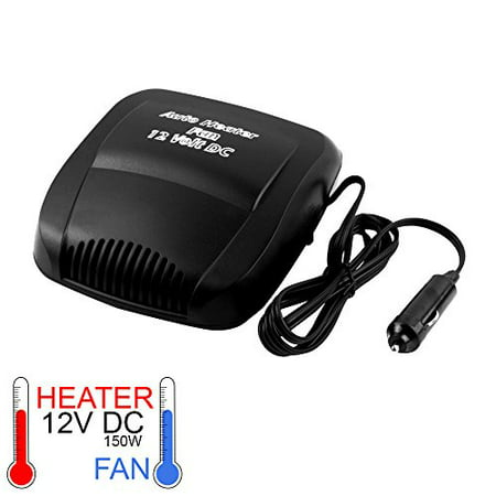 12 Volt Automotive Car Spa Heater & Fan heats, Cools Defrost, Demist and Defog In Seconds