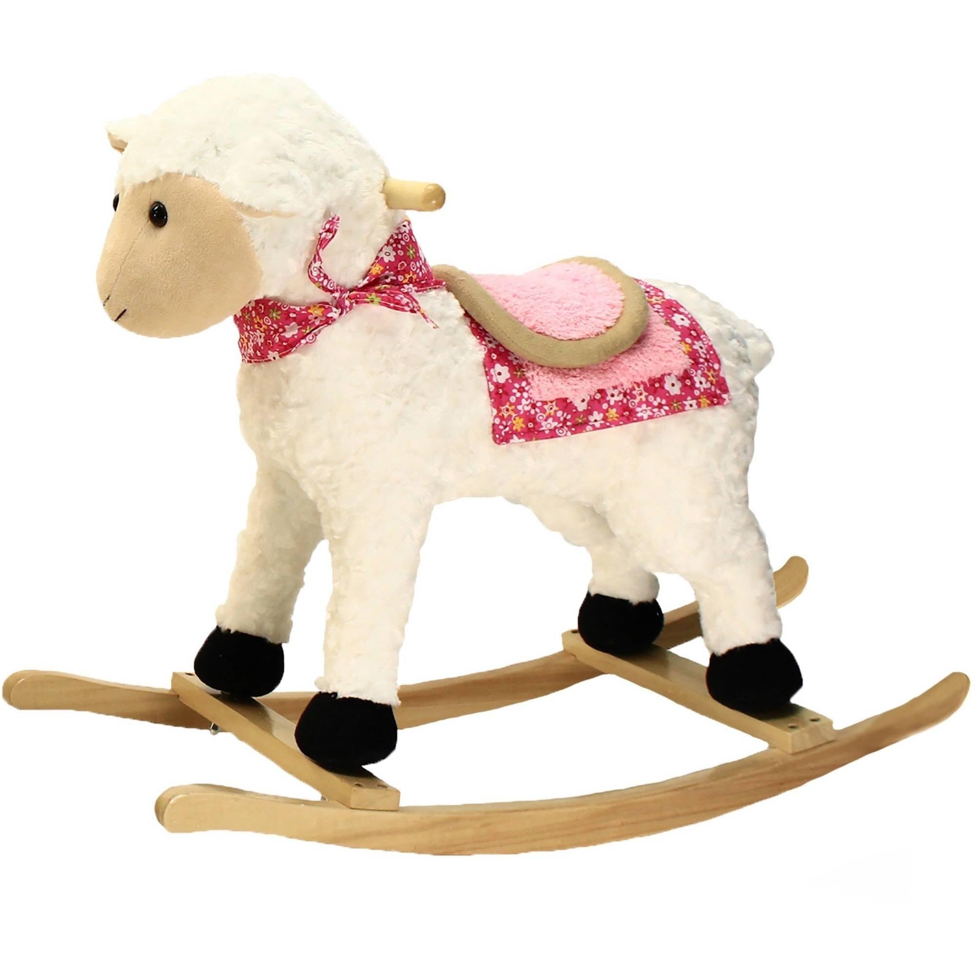 Animal Adventure Farm Rocker, Lamb by