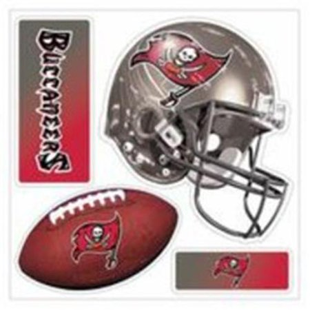 Nfl Tampa Bay Buccaneers 3D Multi Magnet  Pack Of 1   11 5 X 10 Inch  White