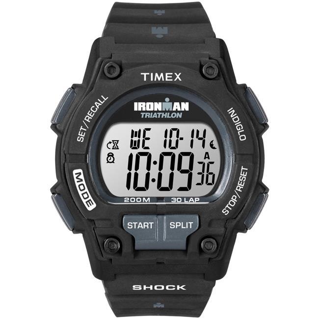Timex Men's Ironman Endure 30 Shock Full-Size Watch, Black Resin Strap by Timex