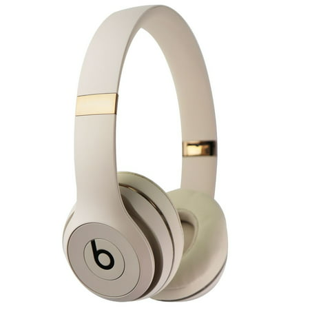 Beats By Dr Dre Solo3 Wireless On Ear Headphones Satin Gold Muh42ll A Refurbished Walmart Com