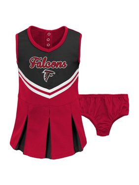 Product Image Toddler Black Red Atlanta Falcons Cheerleader Dress    Bloomers Set f6b753282