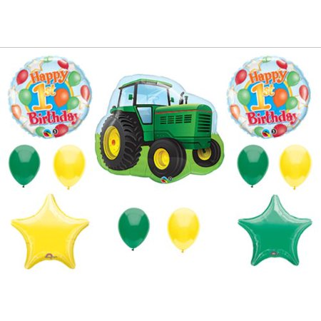John Deere-LIKE Birthday 1st First Party Balloons Decorations Supplies](John Deere Party Decorations)
