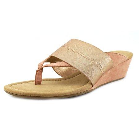 Alfani Womens Viiva Open Toe Casual Platform Sandals Silver Size 100