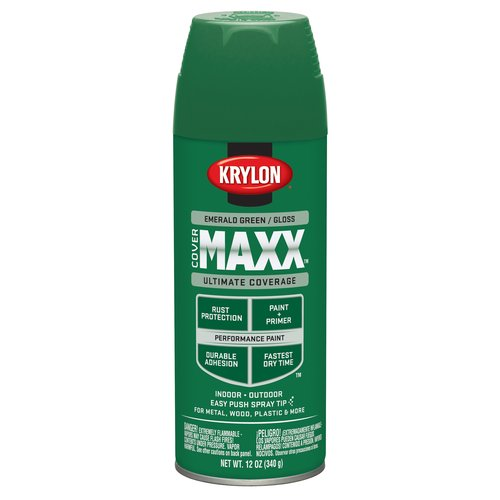 Krylon Emerald Green Gloss CoverMaxx