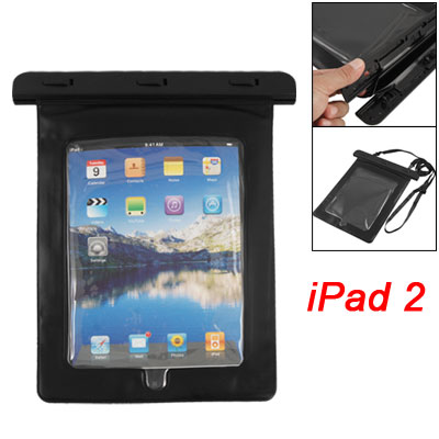 Diving Waterproof Cover Bag Case Pouch Blk for Touch Screen
