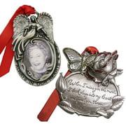 Gloria Duchin Memorial Christmas Ornament 2-Piece Set