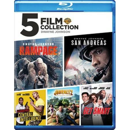 5 Film Collection: Dwayne Johnson (Blu-ray) - Dwayne Johnson Halloween