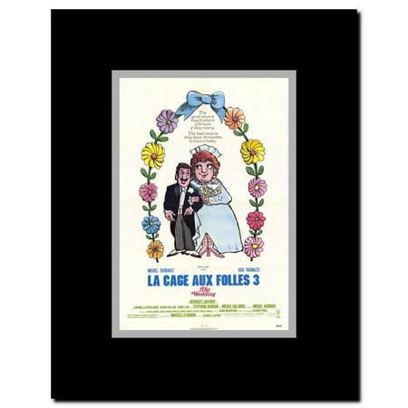 La Cage aux Folles 3: The Wedding Framed Movie (La Cage Aux Folles 3 The Wedding)