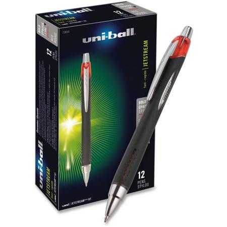 Uni-Ball, SAN73834DZ, Jetstream RT Bold Tip Ballpoint Pens, 1 Dozen
