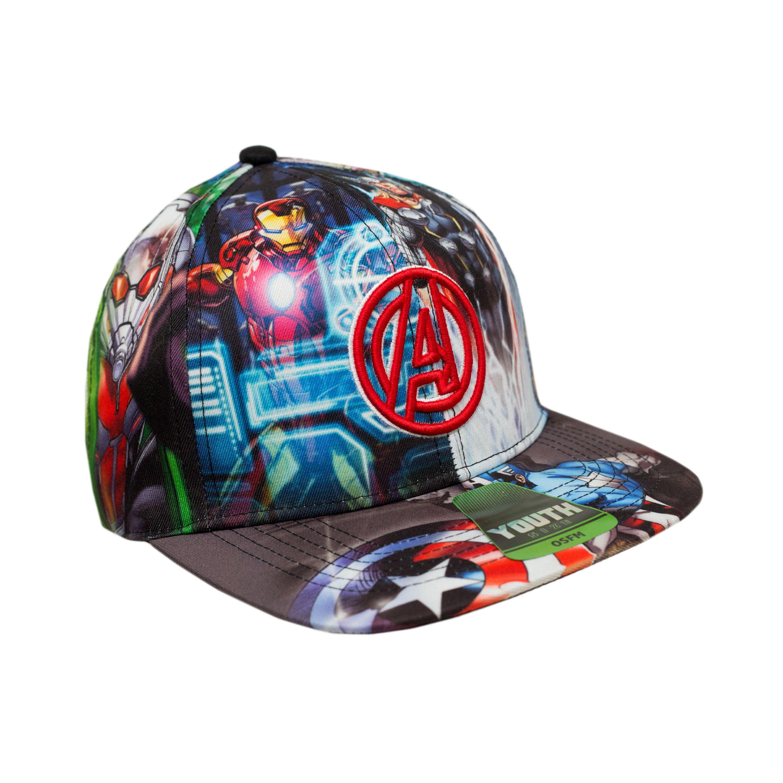 ... war 8cb49 5ea44  50% off avengers avengers boys licensed baseball hats  walmart 3331c a882d 386463162113