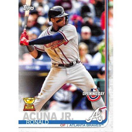 2019 Topps Opening Day 51 Ronald Acuna Jr Atlanta Braves Baseball Card