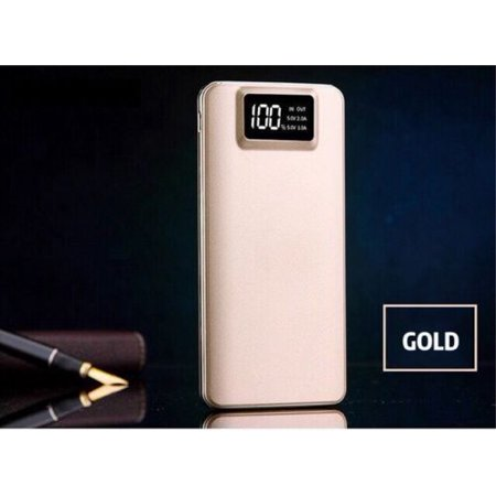 Portable 500000mAh LCD Power Bank External 2 USB Battery Charger For Cell Phone Mobile External Usb