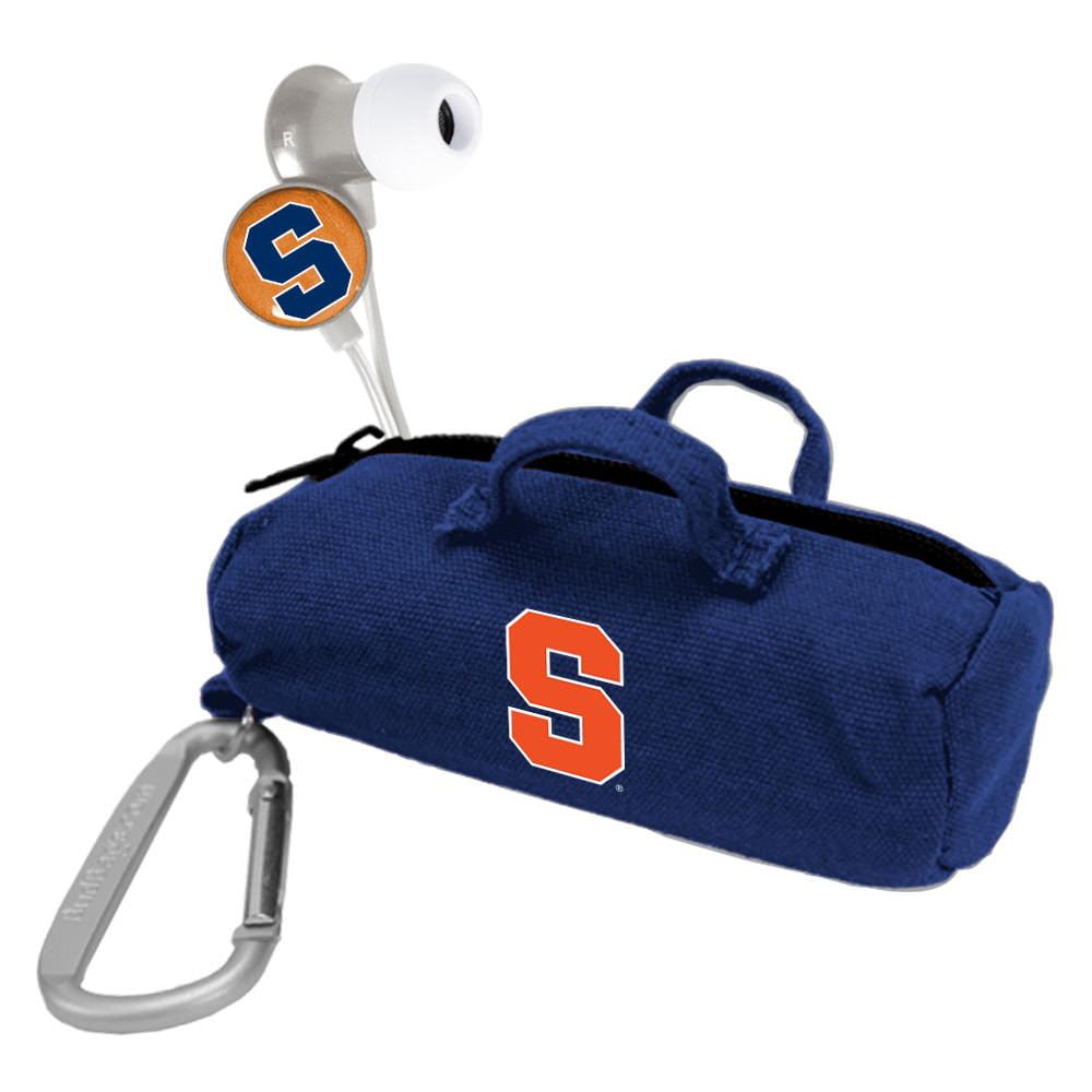 Syracuse Orange Scorch Earbuds with Bud Bag