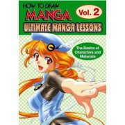 Ultimate Manga Lessons: The Basics of Characters and Materials
