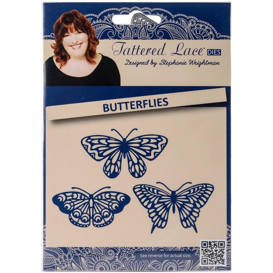 Tattered Lace Metal Die-butterflies