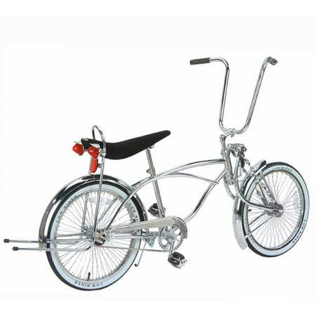 20 Lighted Lowrider Bike Chrome