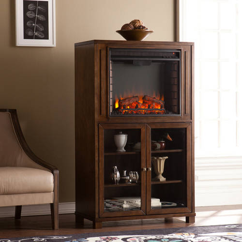 Clayburn Storage Tower Electric Fireplaceage, Celia Gray