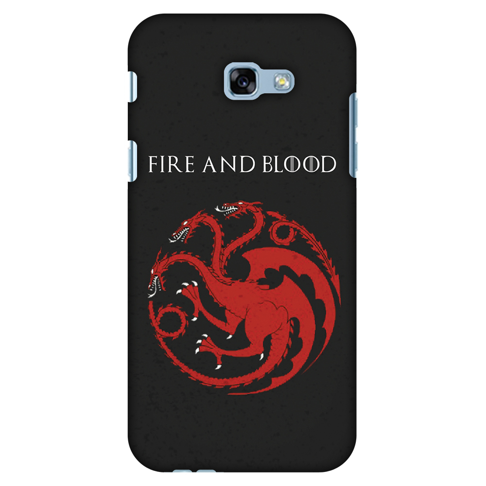 Samsung Galaxy A5 2017 Case, Premium Handcrafted Printed Designer Hard ShockProof Case Back Cover with Screen Cleaning Kit for Samsung Galaxy A5 2017 - Team Targaryen