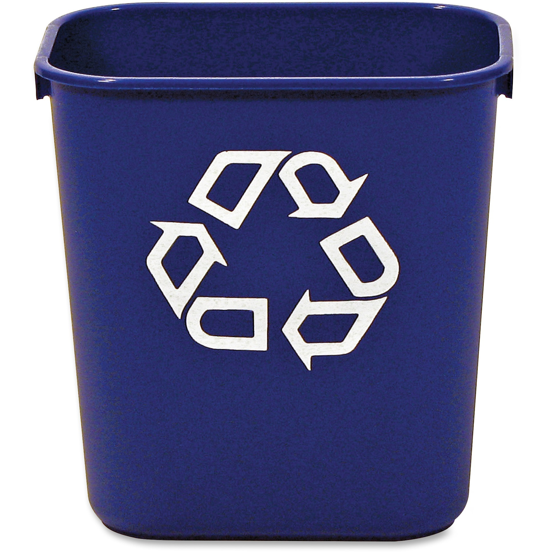 Rubbermaid Blue Deskside Recycling Container, Blue