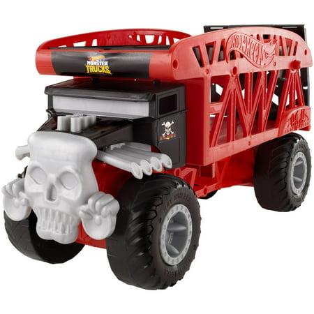 Hot Wheels Monster Truck Bone Shaker Monster Mover