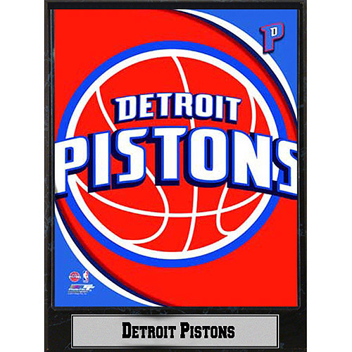 NBA Detroit Pistons Photo Plaque, 9x12