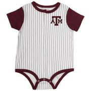Infant Texas A&M Aggies Baseball Pinstripe Bodysuit - 0 to 3 Months