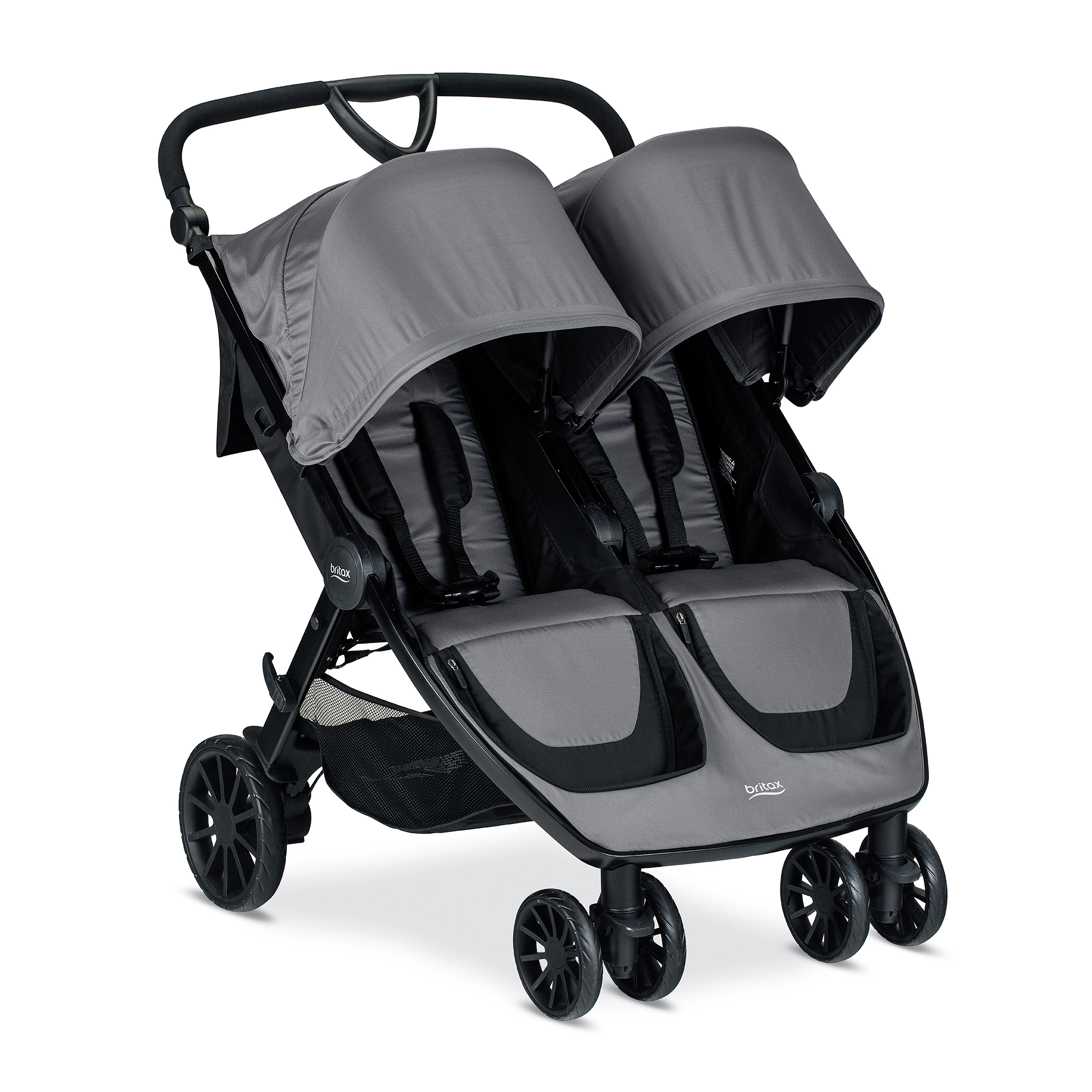 Britax B-Lively Double Stroller, Dove by Britax