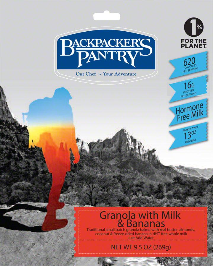 Backpacker's Pantry Granola with Bananas and Milk: 2 Servings by Backpacker's Pantry