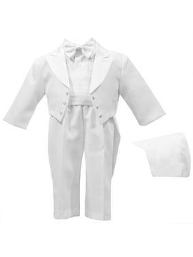 498613ef6 Product Image Christening Baptism Authentic Tuxedo Set with Cummerbund and  Bowtie with Back Tails (Baby Boy)