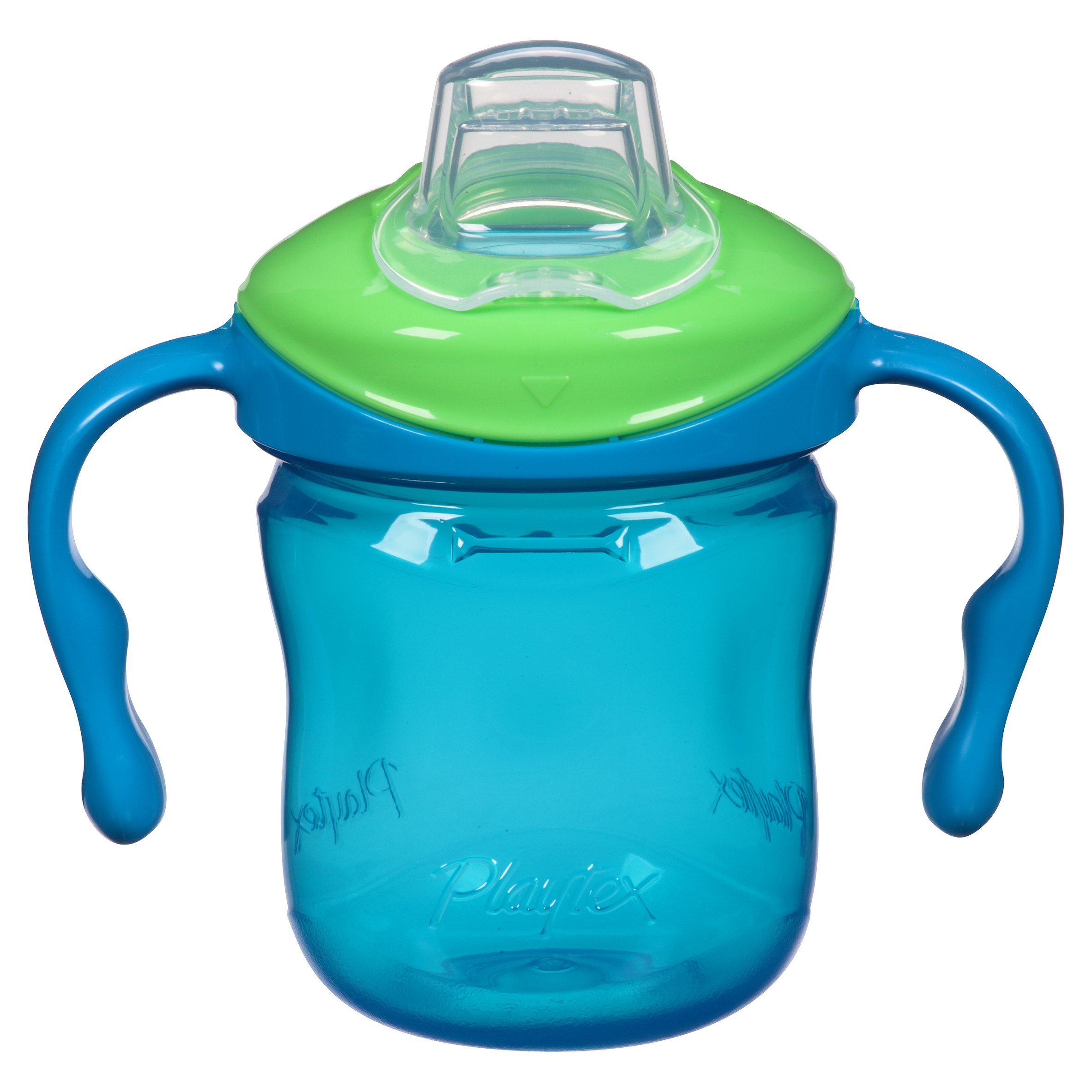 Playtex Sipsters Stage 1 Spout Trainer Sippy Cup 6oz 1-Pack Assorted Colors