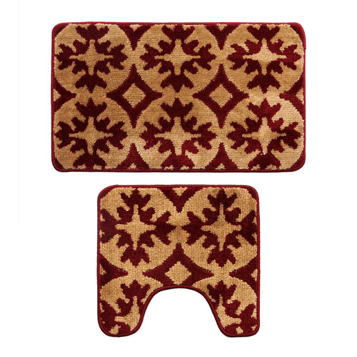 Attraction Design Home 2 Piece Bath Rug Set