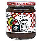 Eden Foods Organic Fruit Butter Apple Cherry 17 oz by