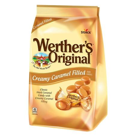 Storck Werther's Original Creamy Caramel Filled Candies, 30 (Werther's Hard Candy)