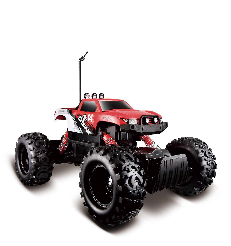 Maisto R C Rock Crawler Radio Control Vehicle (Colors May Vary) by Maisto