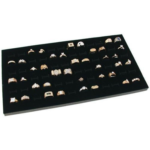 Rebrilliant Glass Top Jewelry Display Case Ring Tray