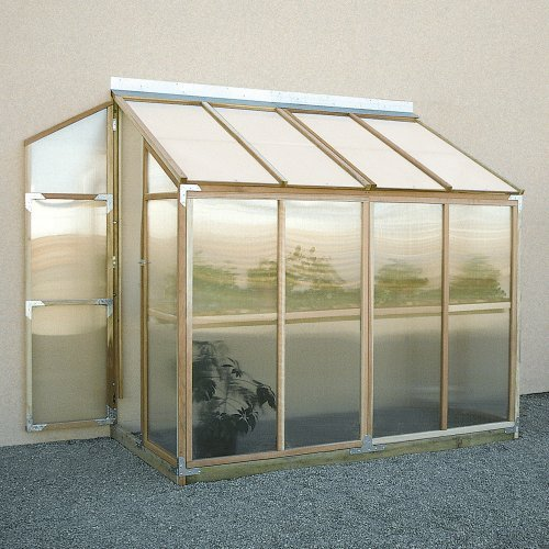 Sunshine Lean To 4 x 8 Foot Greenhouse Kit
