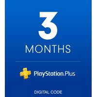 PlayStation Plus 3 Month Membership [Digital Download]