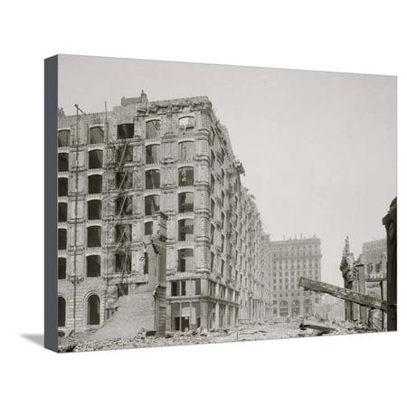 Palace Hotel, New Montgomery St., San Francisco, Cal. Stretched Canvas Print Wall Art (San Francisco Palace Hotel)